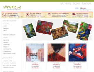 sudharts.net screenshot