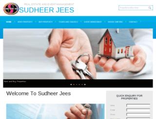 sudheerjees.com screenshot