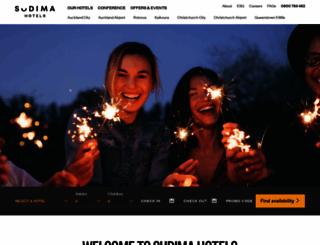 sudimahotels.com screenshot