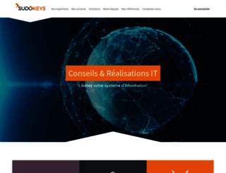 sudokeys.com screenshot