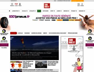 sudouest.com screenshot