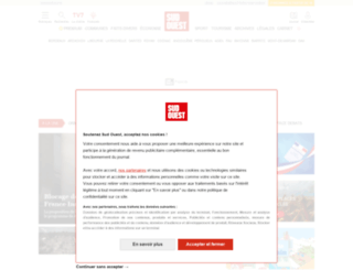 sudouest.fr screenshot