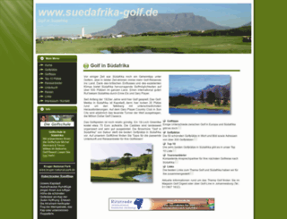 suedafrika-golf.de screenshot