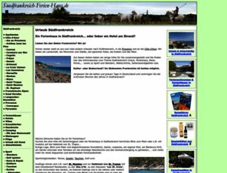 suedfrankreich-ferien-haus.de screenshot