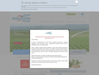 suedzucker.pl screenshot