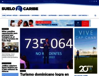 suelocaribe.com screenshot