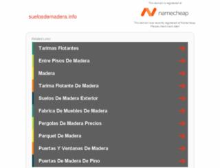 suelosdemadera.info screenshot