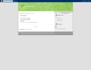 suertres.blogspot.com screenshot