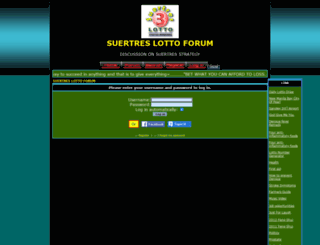 suertres.forumotion.com screenshot