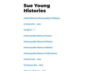 sueyounghistories.com screenshot