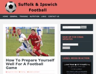 suffolkandipswichleague.co.uk screenshot