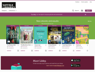 suffolkcc.libraryreserve.com screenshot