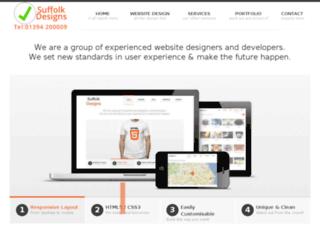 suffolkdesigns.co.uk screenshot