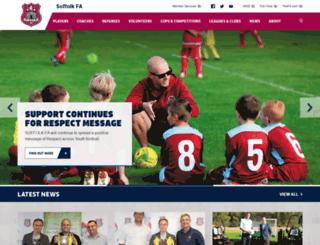 suffolkfa.com screenshot