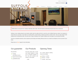 suffolkstoves.co.uk screenshot