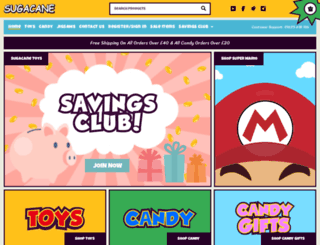 sugacane.co.uk screenshot