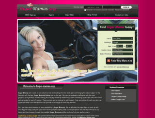 sugar-mamas.org screenshot