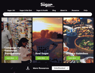 sugar.org screenshot