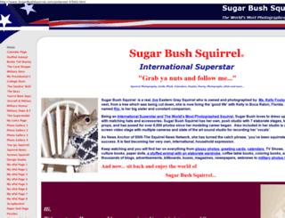 sugarbushsquirrel.com screenshot