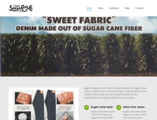 sugarcanejeans.co.uk screenshot
