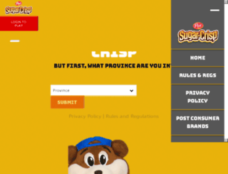 sugarcrisp.ca screenshot
