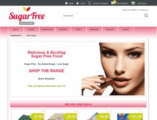 sugarfreesuperstore.co.uk screenshot