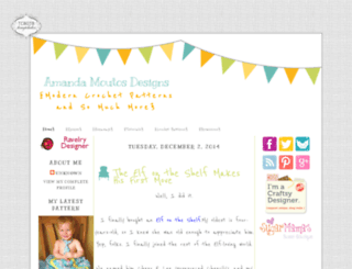 sugarmamassweetbowtique.blogspot.com screenshot