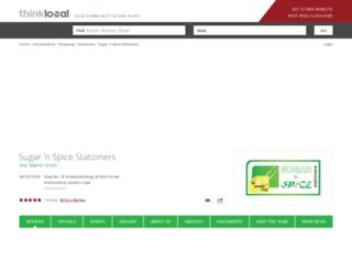 sugarnspice.thinklocal.co.za screenshot