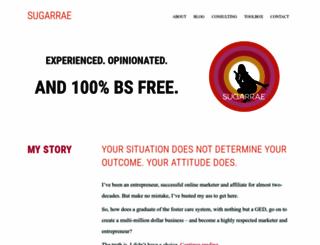 sugarrae.com screenshot