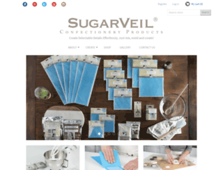 sugarveil.com screenshot