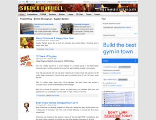 sugdenbarbell.co.uk screenshot