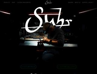 suhr.com screenshot