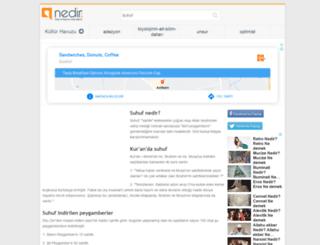 suhuf.nedir.com screenshot