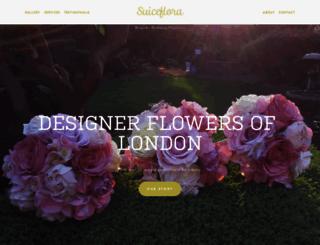 suiceflora.co.uk screenshot