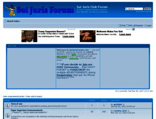 suijurisforum.com screenshot