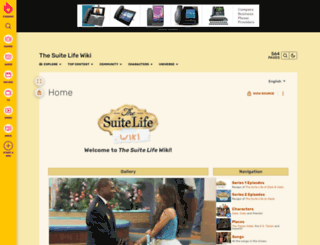 suitelife.wikia.com screenshot