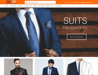 suitltd.myshopify.com screenshot