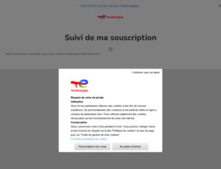 suivi-souscription.direct-energie.com screenshot