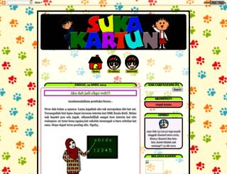 sukakartun23.blogspot.com screenshot