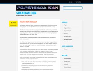 sukamyblog.wordpress.com screenshot