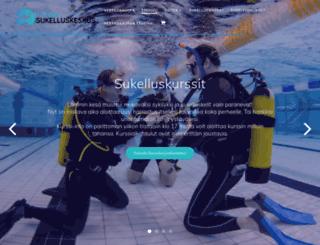 sukelluskeskus.fi screenshot