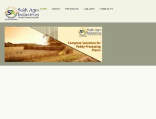 sukhagroindustries.in screenshot