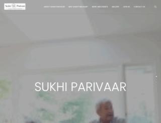 sukhiparivaar.org screenshot