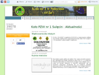 sulecin1.wedkuje.pl screenshot