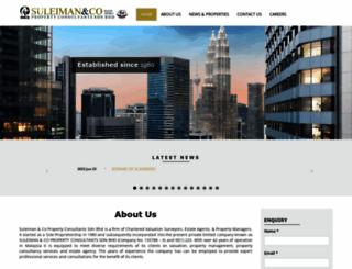 suleimanco.com.my screenshot