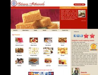 sulemanmithaiwala.com screenshot
