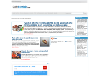 sullanotizia.com screenshot