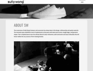 sullywong.com screenshot