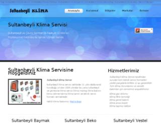 sultanbeyliklimaservisi.com screenshot