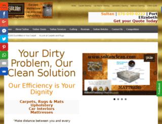 sultanclean.com screenshot